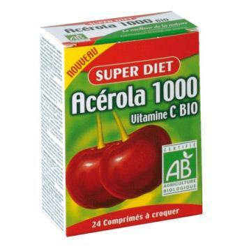 Acérola 1000 - 24 comprimés