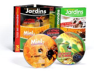 Coffret Jardins (comprend 3 DVD et le livre Jardins)