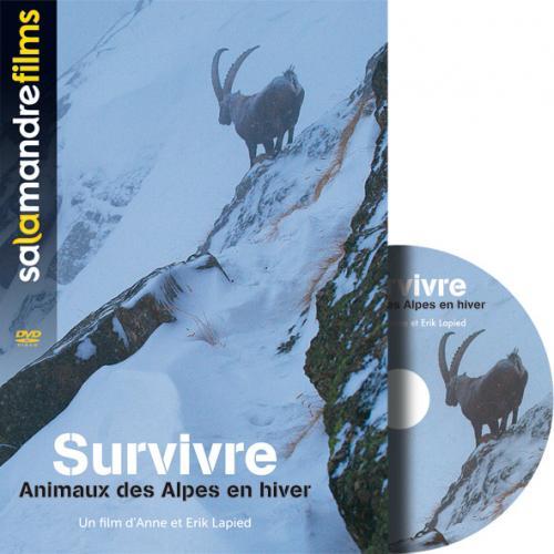 DVD Survivre,animaux des Alpes en hiver