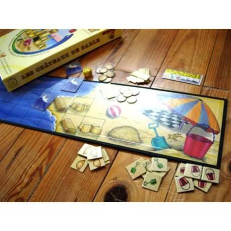 Les châteaux de sable (jeu coopératif à partir de 5 ans)