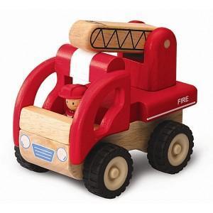 Camion de pompier mini wonderworld - jouets en bois