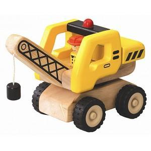 Camion grue mini wonderworld - jouets en bois