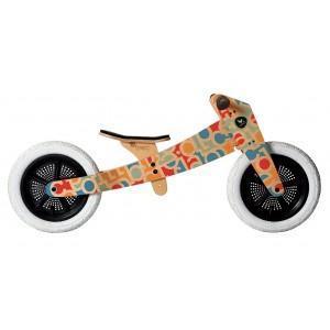 Draisienne en bois wishbone bike  alphabet - jouet ecologique