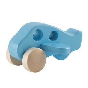 Jouet avion en bois - jouets bio hape