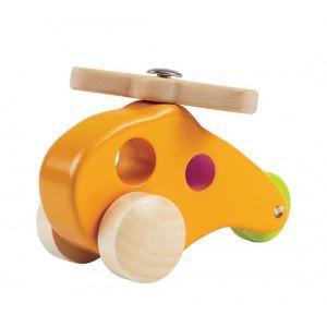 Jouet hélicoptère en bois - jouets bio hape
