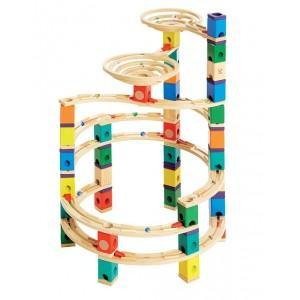 Circuit bille hape quadrilla (cyclone) - jouets hape