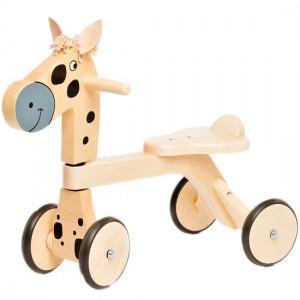 Porteur en bois Jasper Toys Poney - Jouet en bois Ecologique