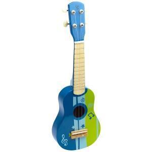Guitare hape ukulélé bleu - jouets enfant