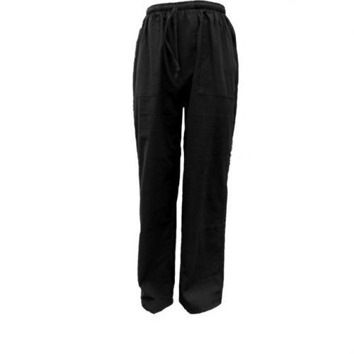 pantalon de massage thaï noir ( L )