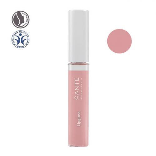 Gloss à lèvres bio n°02 Nude silk 8ml