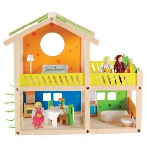 Hape maison de poupées 'charmante villa' - jouets hape