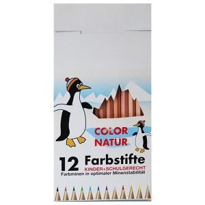 ökonorm crayons de couleurs classic naturel 12 couleurs