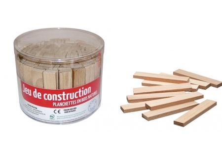 Planchettes en bois