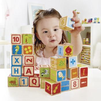 Alphabet en cubes E0419