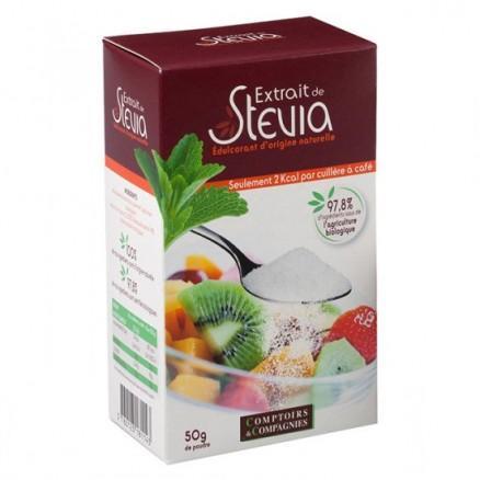 Extrait de Stévia en poudre 50 g