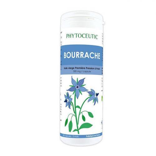 Huile de Bourrache bio - Beauté de la peau - 180 capsules