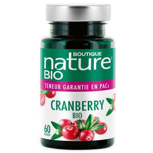 Cranberry bio - Confort urinaire - 60 gélules