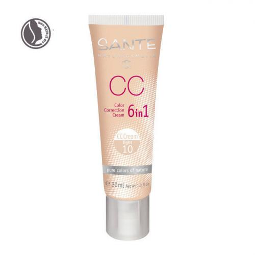 CC Crème bio correctrice 6 en 1 Light n°10 - Tube 30ml