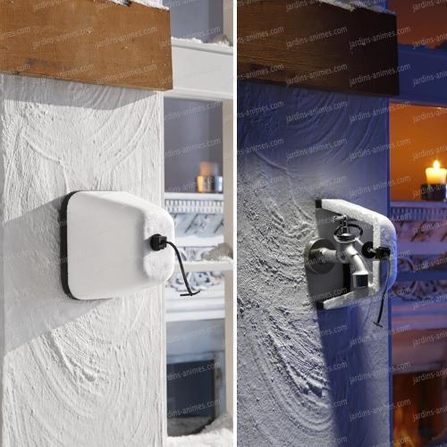 Coque protège robinet contre le gel