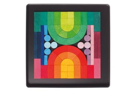 Puzzle magnétique Romanesque