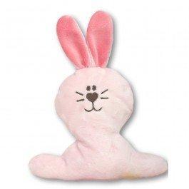 Doudou petit Lapin rose bébé