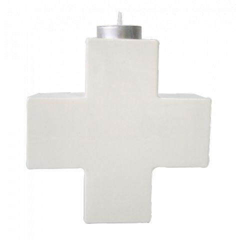 Bougeoir Cross en céramique - Sagen Ceramics, Espagne