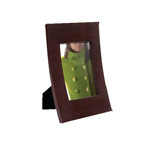 Cadre photo courbe en bois labellisé - Umbra