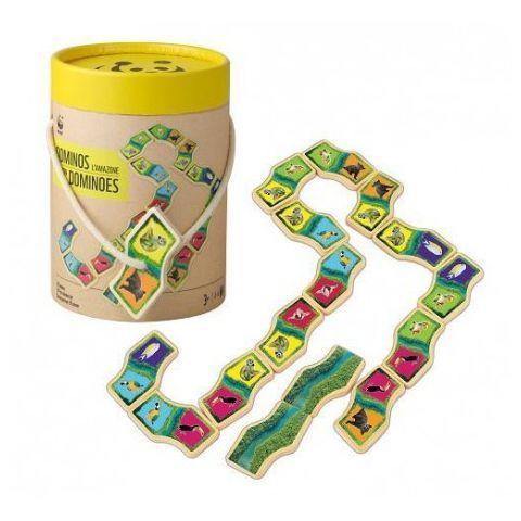Jeu Dominos de l'Amazonie WWF