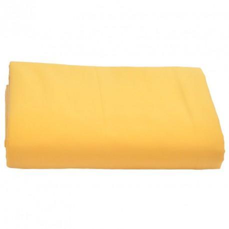 Drap dessus coton bio Aquanatura Couleur Jaune Dimensions 250x300