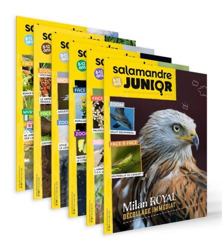 La Salamandre Junior (8-12 ans), abonnement 1 an
