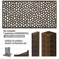 Kit supplémentaire Panneau MOSAIC horizontal 2m x 1m en résine haute qualité