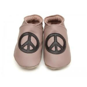 Peace baby and taupe