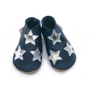 Star navy silver