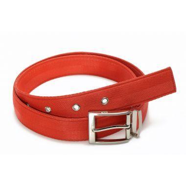 John Ceinture en ceinture de sécurité rouge