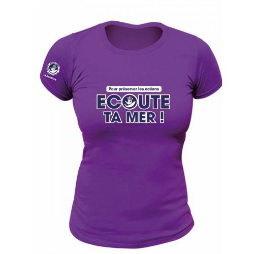 Tee shirt Femme Ecoute Ta Mer