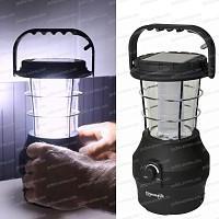 Lanterne solaire 24 Leds à dynamo et recharge USB