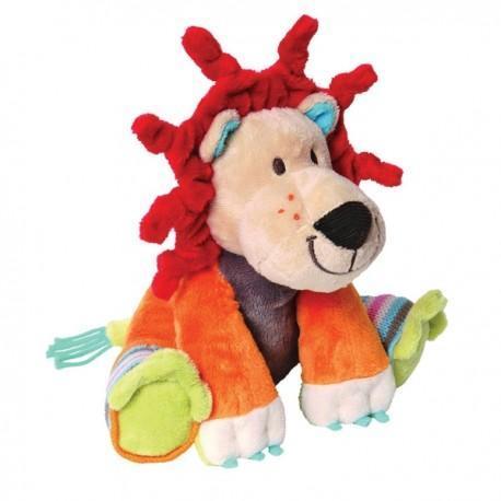 Peluche happy horse doudou lion 21 cm -  peluches - doudous