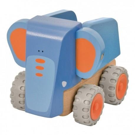 Wonderworld camion benne elephant  - jouets en bois
