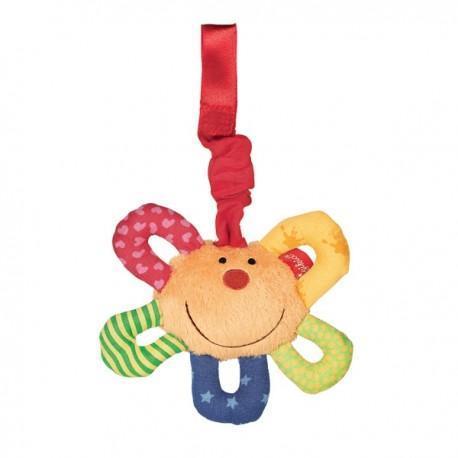 Clip hochet vibrant sigikid wilma baby fit - fun - hochet pour
