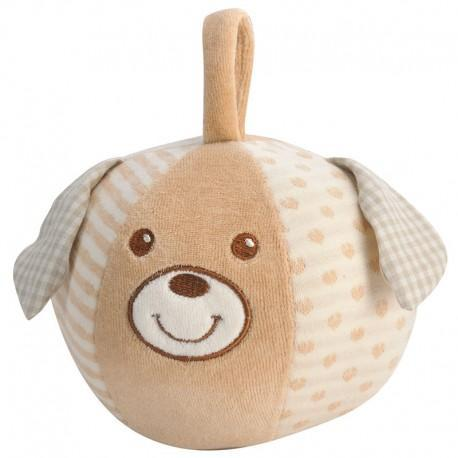 Jouets naissance everearth balle chien - jouets bio