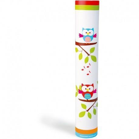 Bâton de pluie hibou lou scratch - jouets musicaux