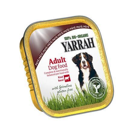 Barquette de boeuf et spiruline pour chien 150 g
