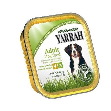 Bouchée de poulet - légumes 150 g pour chien
