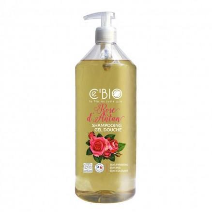 Shampooing Gel douche Rose d'Antan