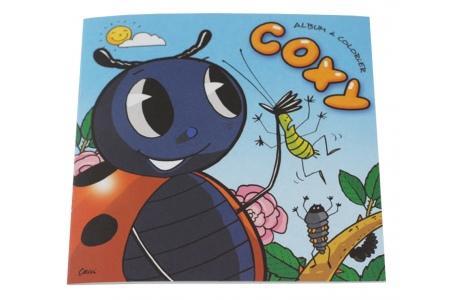 Cahier de coloriage Coxy