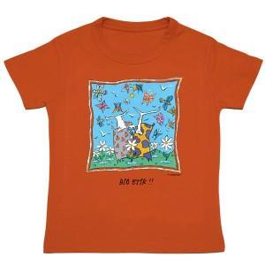 Tee-shirt bio orange Bio Etik