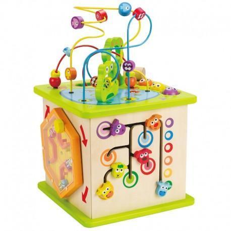 Cube d'activités nature hape 'contry critters'  - jouets hape