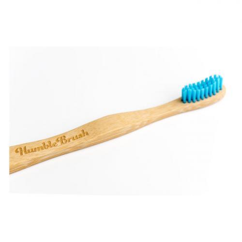 Humble Brush Brosse à dents adulte bleue