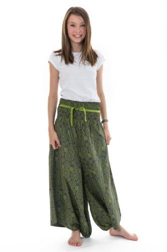 Sarouel jupe ado elastique imprime etoile