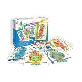 Aquarellum Junior - Hiboux